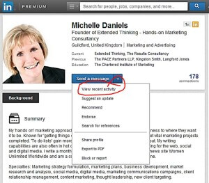 How to now find a summary of your connection's activity on LinkedIn