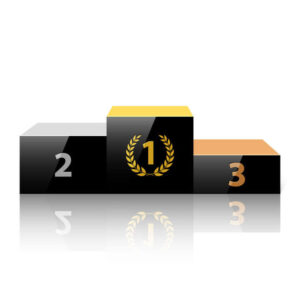 winners podium - business awards marketing