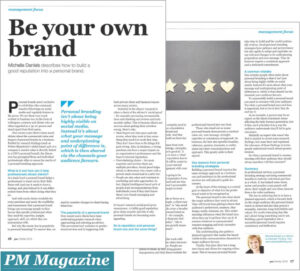 Be your own brand_PM Magazine 2019